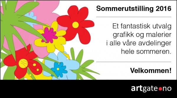 Annonse Sommer utstilling 2016