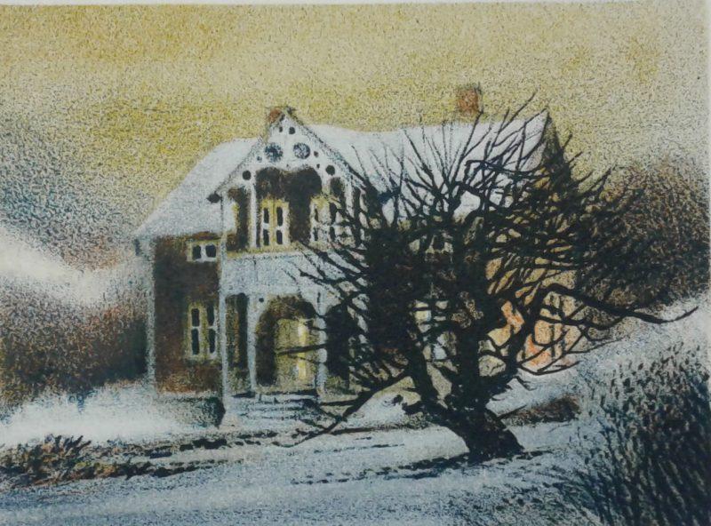 Hus i hage